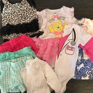 Shorts, Pooh Bear Tutu, Leopard Tutu, Cardigan